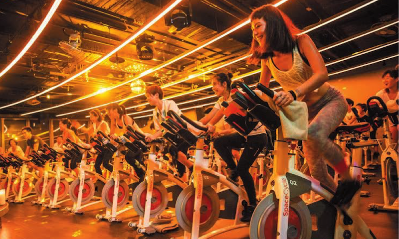 Space Cycle Spinning Class