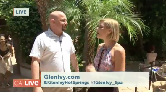 Glen Ivy Hot Springs on California Live