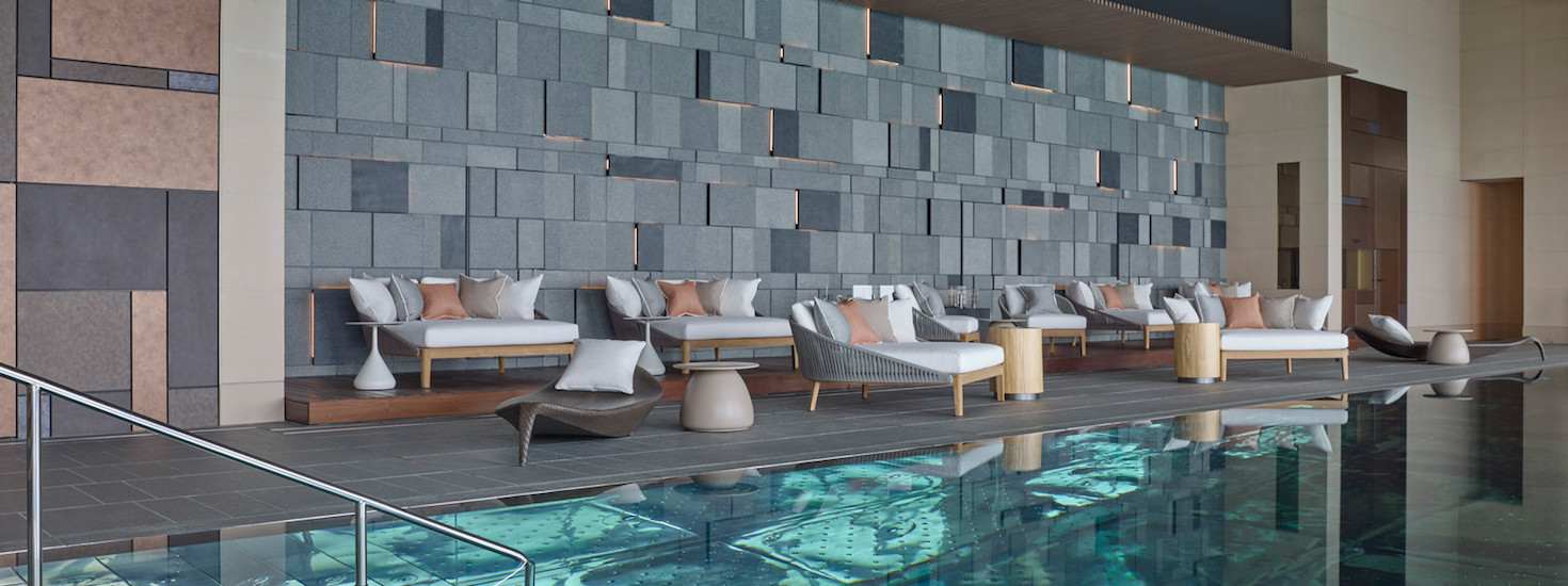 Cropped version of the vitality pool at Four Seasons Tokyo