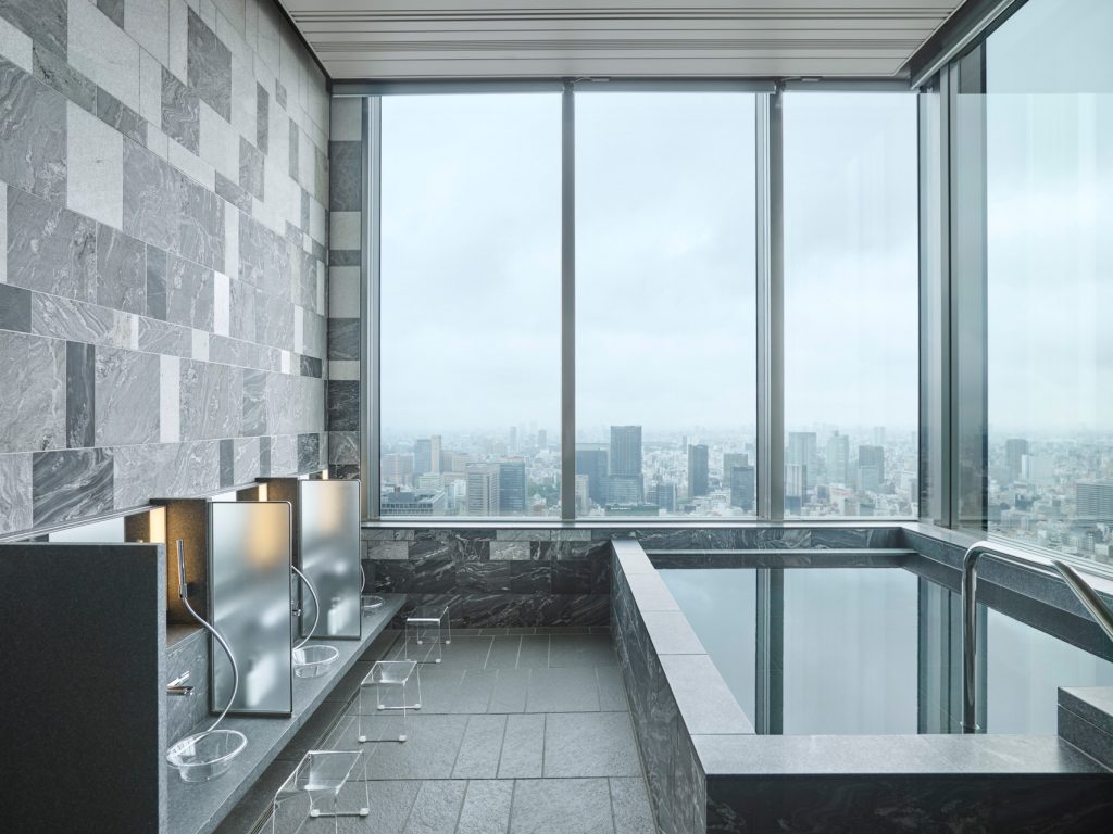 Plung Pool at Four Seasons Tokyo at Otemachi and Japanese Shower